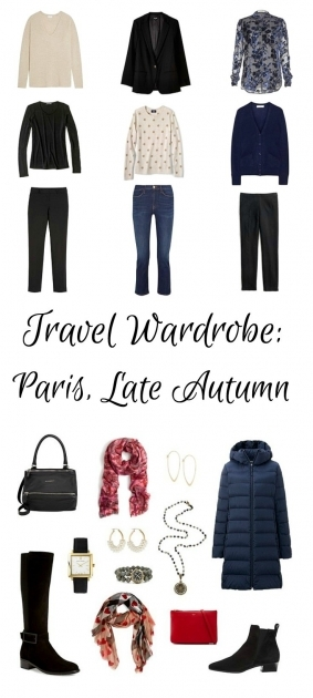 Wardrobe Planning Paris Travel Wardrobe For Late Autumn Or Early Winter Photo