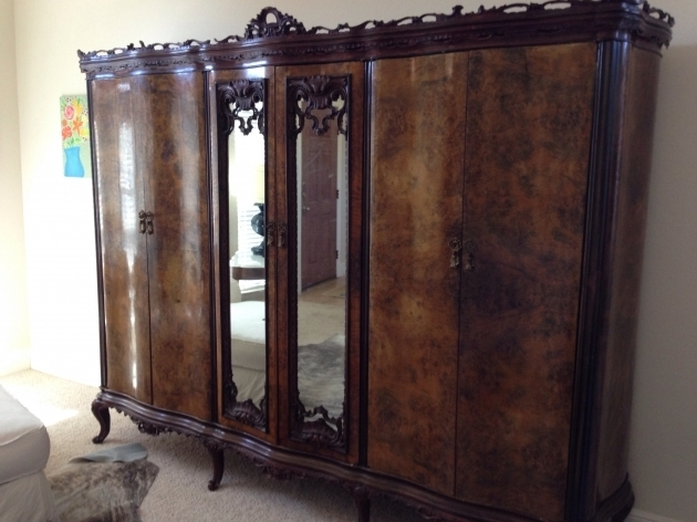 Antique Wardrobe Antique Wardrobe Antique Appraisal Instappraisal Pictures