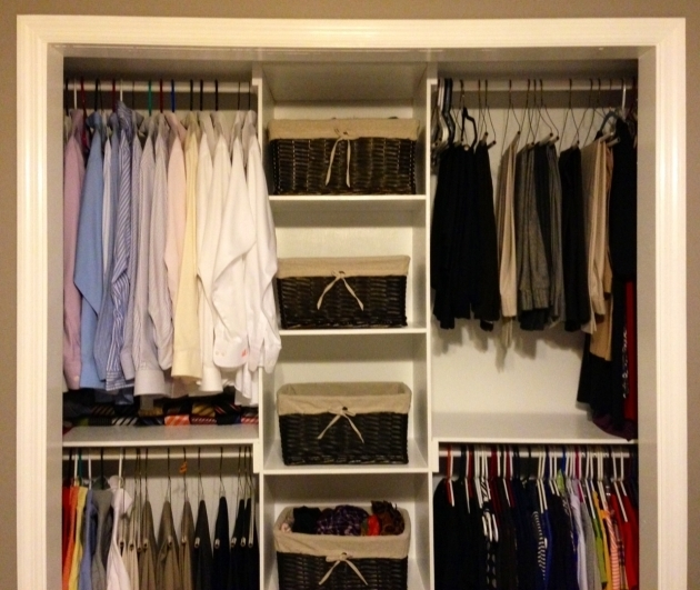 Built In Closet Organizers Ana White Simple Closet Organizer Diy Projects Pic