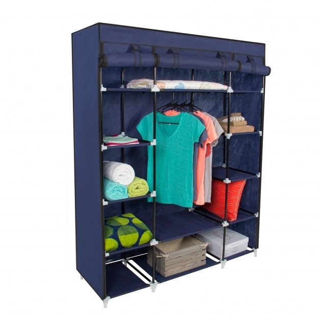 Closet Clothes Storage 53 Portable Closet Storage Organizer Wardrobe Clothes Rack Photos