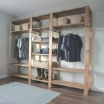 Closet Systems Diy Ana White Industrial Style Wood Slat Closet System With Images