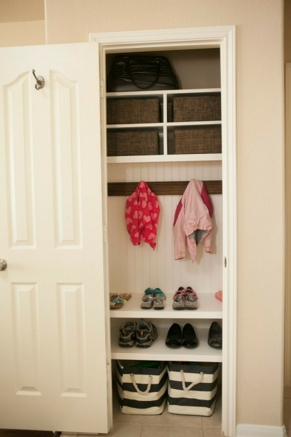 Coat Closet Storage 1000 Ideas About Coat Closet Makeovers On Pinterest Entry Pics