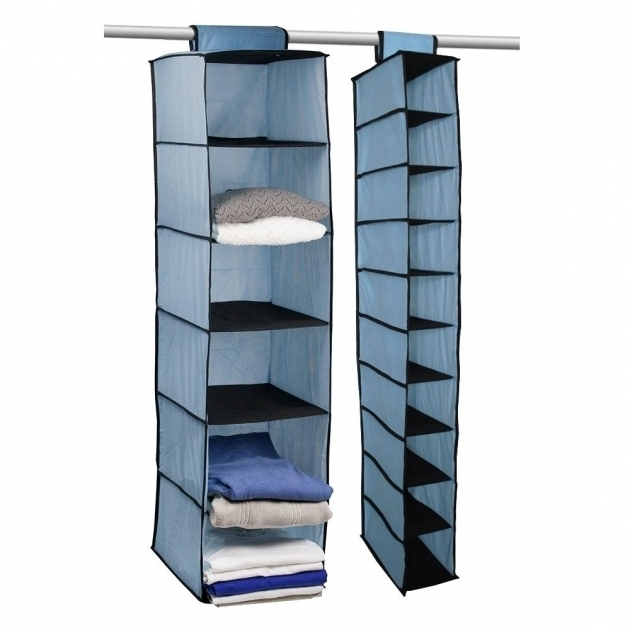 Hanging Closet Storage Awesome Hanging Closet System 4 Hanging Clothes Organizer Picture