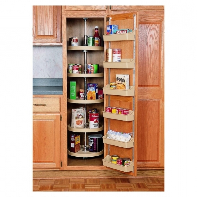 Plastic Storage Closet Shop Rev A Shelf Plastic 16quot Full Circle Pantry Cabinet Shelves At Pic