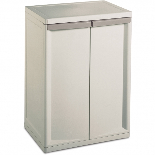 Plastic Storage Closet Sterilite 2 Shelf Storage Cabinet Walmart Photo