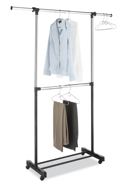 Portable Wardrobe Rack Clothes Racks For Closets Boutique Pipeline Collection Folding Image