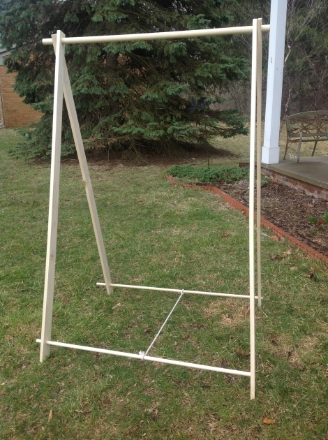 Portable Wardrobe Rack Portable Clothes Rack For Events Camping And Gold Key Wood Photos