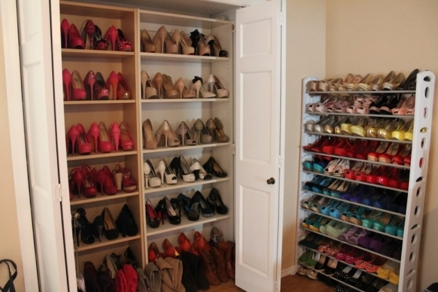 Shoe Storage Closet Shoe Rack For Closet Luxury Bedroom With Shoe Rack Designs Small Pic