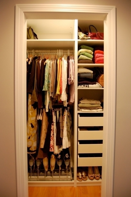 Small Closet Systems Small Closet Organization Ideas System Nicoleraestyer Pictures