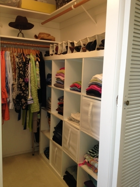 Small Walk In Closet Organization Ideas Small Walk In Closet Organization Ideas Efficient Walk In Closet Photo