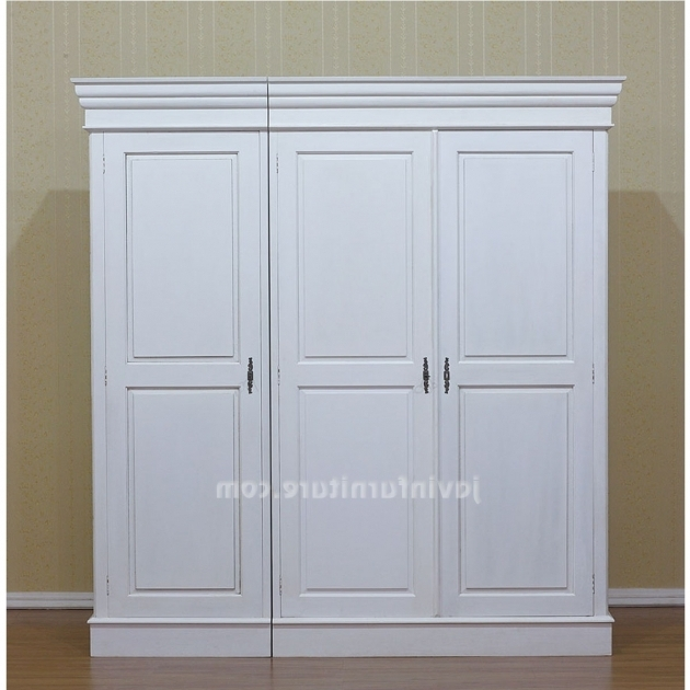 Wardrobe Armoire Closet White Wardrobe Closet To Match The Bedroom Setting Kenfurniture Image