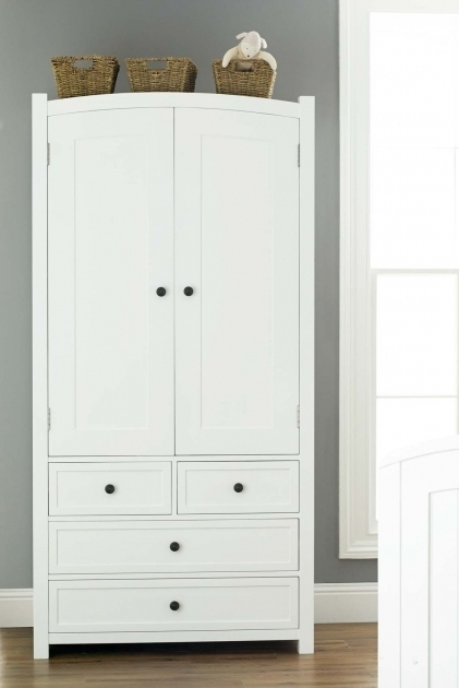 White Wardrobe With Drawers Clean White Kids Wardrobe With Drawers Aside Stained Curved Lamp Pic