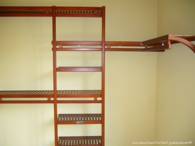 Wood Closet Organizer Systems Spruce Up Your Walk In Closet With A Wood Closet Organizer Instead Image