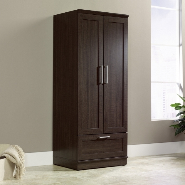 Wardrobe Cabinet For Sale Sauder Homeplus Wardrobe Cabinet Wardrobes Armoires At Hayneedle Pic