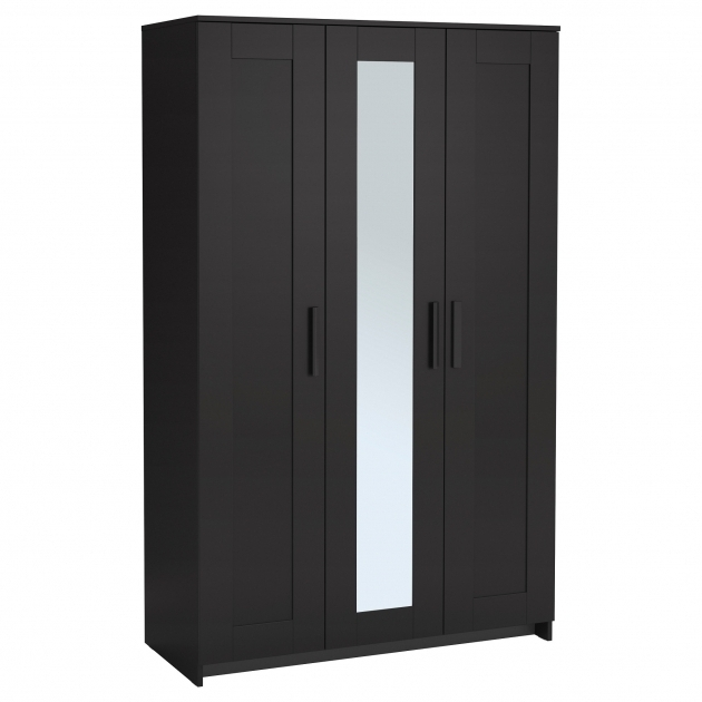 Amazing Brimnes Wardrobe With 3 Doors White Ikea Ikea Wardrobe Closet Image