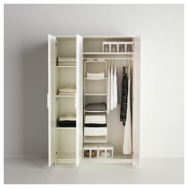 Amazing Brimnes Wardrobe With 3 Doors White Ikea Ikea Wardrobe Closet Pics