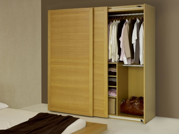 Best Modern Wardrobe Design In Brown With Mirror Sliding Door And Wardrobe Design Sliding Door Images