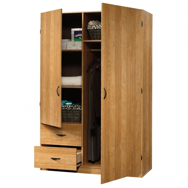 Fascinating Affordable Wardrobe Closet Plans Design Ideas With Natural Wooden Wardrobe Simple Design Image