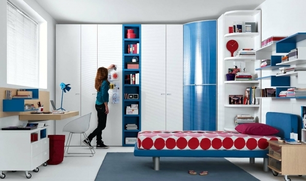 Image of Amazing Bedroom Ideas Featuring Multipurpose Furniture In White Multi Purpose Wardrobe Designs Photo