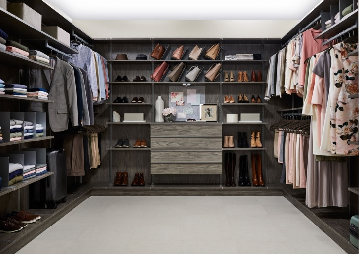 Alluring Inspired Closets Debuts New Contemporary Closet System | Woodworking Floating Closet System Image