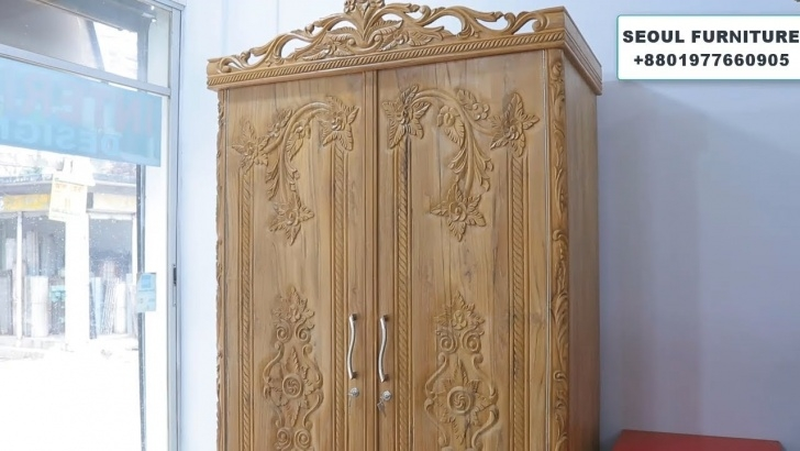 Alluring Latest Wooden Almirah Design ৷৷ Wardrobe Collection - Youtube Almari Design In Furniture Wood