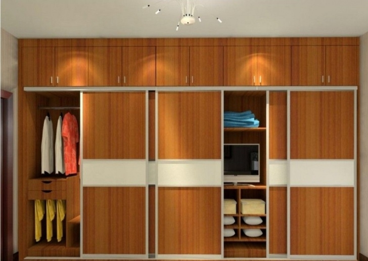Alluring Pin By Ploy On Closet Plan | Almirah Designs, Bedroom Cupboard 3D Designs For Bedroom Wardrobes Image