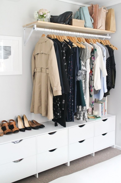 Amazing 8 Bedrooms That Master The Open Closet Storage Trend | Closet | Open Stand Alone Closets For Bedroom Picture