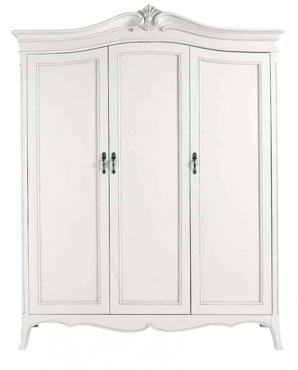 Amazing Ava Antique White Hand Carved French Style 3 Door Mirrored Wardrobe White Carved Wardrobe Closet Pics