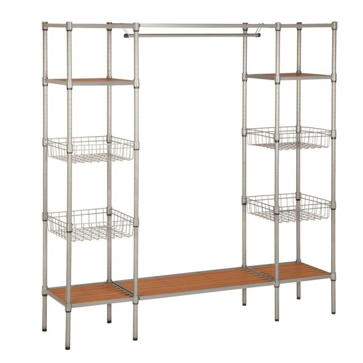Amazing Honey-Can-Do 16.25 In. D X 67.5 In. W X 68 In. H Freestanding Steel Free Standing Closet Systems Photo