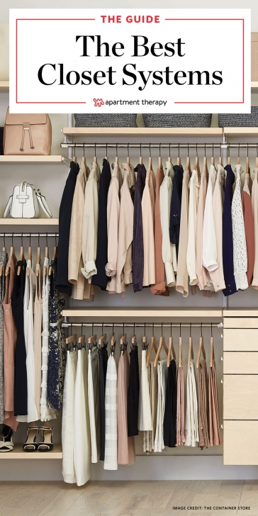 Amazing The Best Closet Systems To Organize Your Wardrobe | Apartment Therapy Best Modular Closet System Image