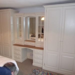 Amazing Wardrobe With Dressing Table.   Bedroom Ideas   Wardrobe With Wardrobe Dressing Table Combo Picture