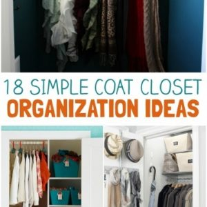 Astonishing 18 Coat Closet Organization Tricks For Busy Families Small Coat Closet Organization Picture