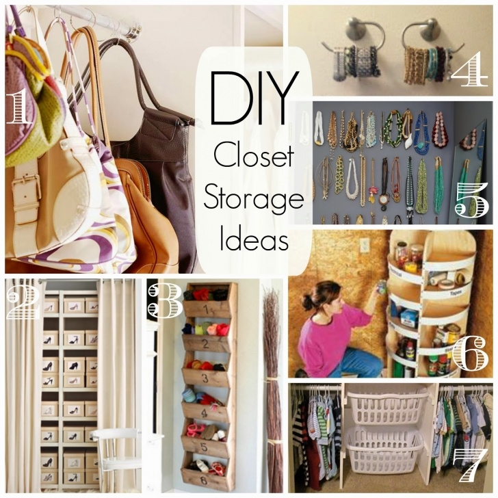 Astonishing Cathey With An E Saturdays Seven Diy Closet Organization And Storage Diy Closet Organization Ideas On A Budget Photo