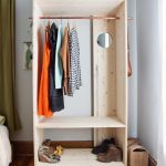 Astonishing Modern Wooden Wardrobe Diy (A Beautiful Mess) | Small Spaces Simple Wardrobe Designs On Pinterest Pics