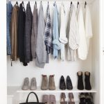 Astonishing Open Closet In Neutrals + Blue #home 5 Simple Steps To A Streamlined Simple Wardrobe Ideas Pics