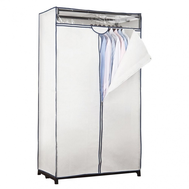 Astonishing Simplify 36 In. X 63 In. X 19 In. White Portable Closet-4062-White White Portable Closet Picture
