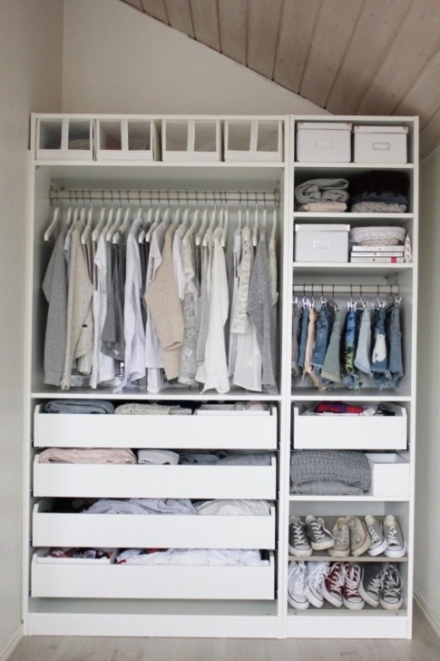 Awesome 10 Easy Pieces: Modular Closet Systems, High To Low - Remodelista Open Closet Systems Picture
