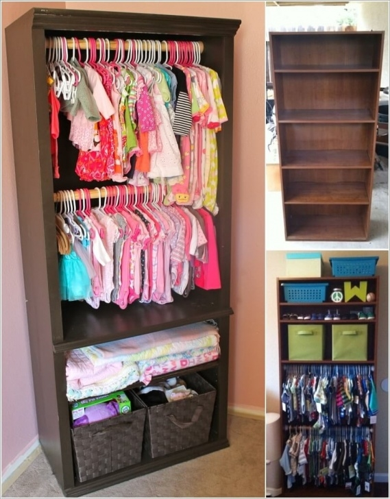 Awesome 5 Cute And Clever Diy Kids' Closet Ideas Kids Wardrobe Ideas Photo