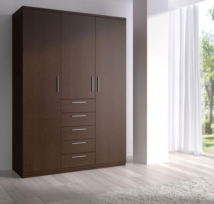 Awesome Bedroom, Classy Wooden Closet Wardrobe Ideas With Modern Design For Wooden Wardrobe Closet Modern Photo