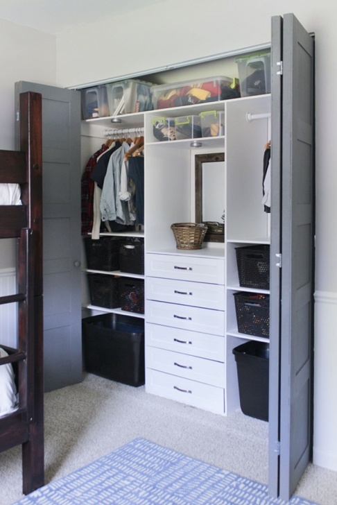 Awesome Build This Terrific Small Closet Organizer Closet Organizers With Drawers Photo