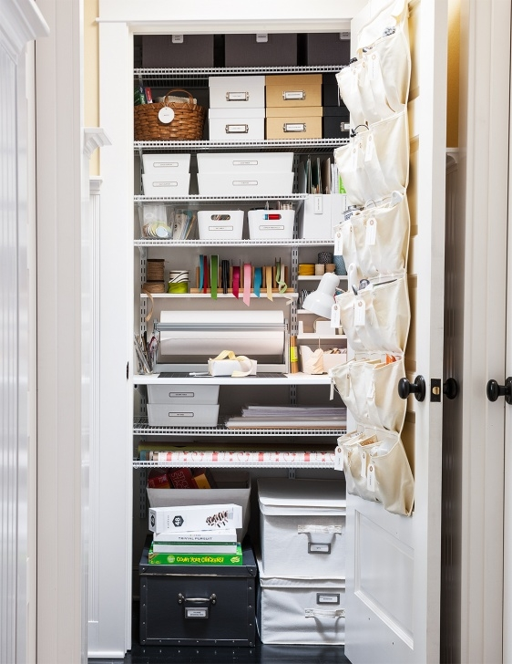 Awesome Closet Organization Tips | Better Homes & Gardens Evaluating Storage Needs Closet Photo