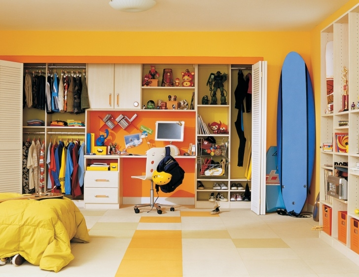 Awesome Kids Closet Systems & Storage Solutions | California Closets Children Wardrobe Ideas Image