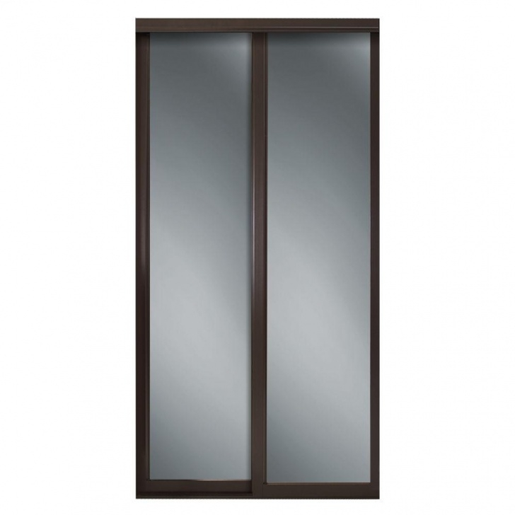 Best Contractors Wardrobe 48 In. X 81 In. Serenity White Wood Frame White Mirror Wardrobe Closet Pics
