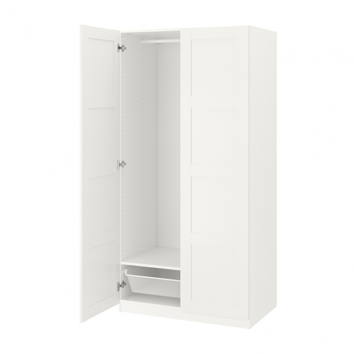 "Best Pax Wardrobe - 39 3/8X23 5/8X93 1/8 "" - Ikea White Narrow Wardrobe Picture"