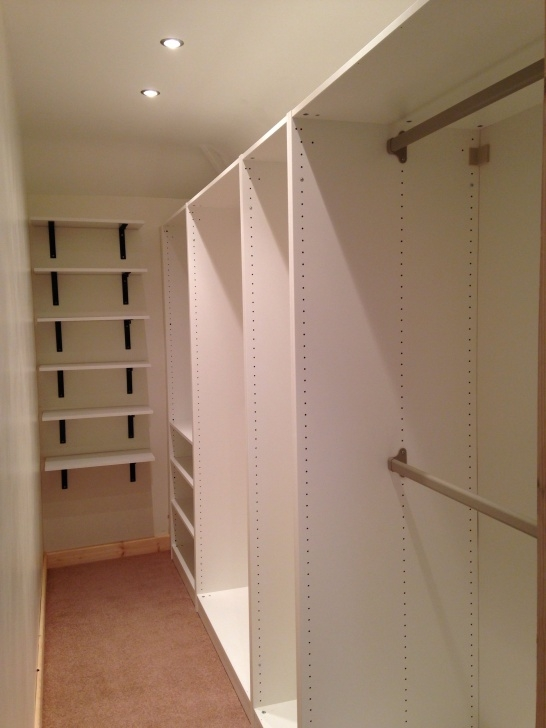 Best Small Walk-In-Wardrobeoh, The Possibilities!!!! | Home Remodeling Small Walk In Closet Photo