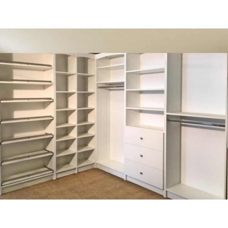 Best Walkin 14 In. D X 159.5 In. W X 84 In. H White Melamine Wood Free Standing Closet Systems Image