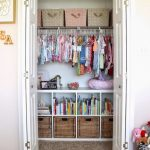 Brilliant 8 Nursery Organizing Ideas You'll Love | Baby Items | Pinterest Kids Wardrobe Closet Pinterest Photo