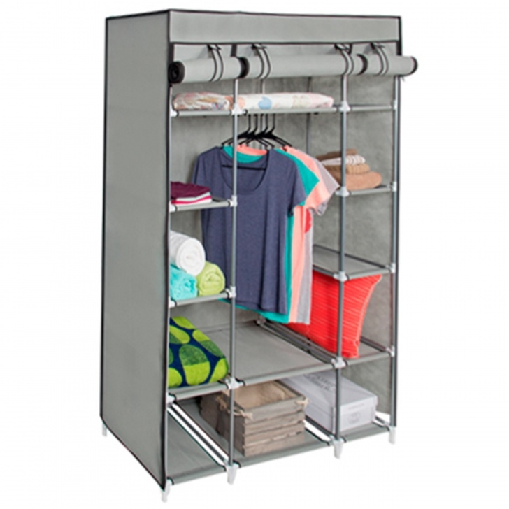 Brilliant Best Choice Products 13-Shelf Portable Fabric Closet Wardrobe Portable Storage Closets Buy Bactroban Photo