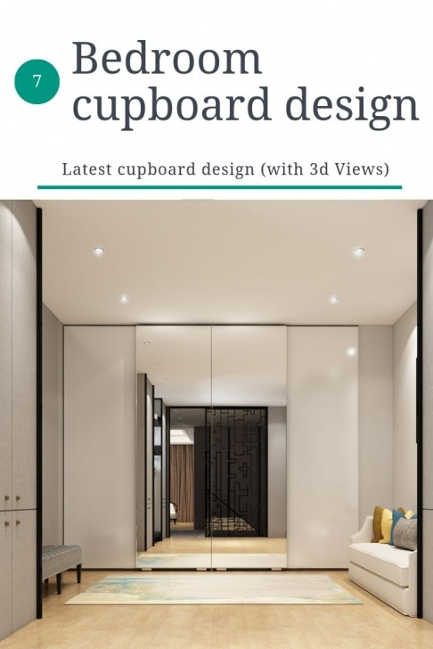 Fantastic 7 Latest Modern Bedroom Cupboard Design (With 3D Views) | Magazine 3D Designs For Bedroom Wardrobes Image