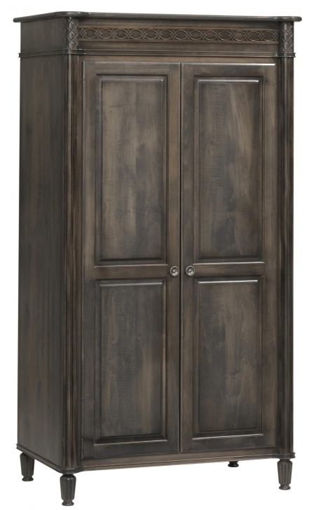Fantastic Amish Eminence Wardrobe | Bedroom Furniture | Rustic Bedroom Solid Wood Armoire Wardrobe Closet Amish Image